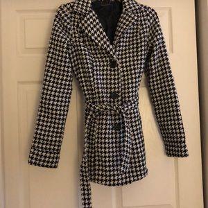 Black & White Pea Coat